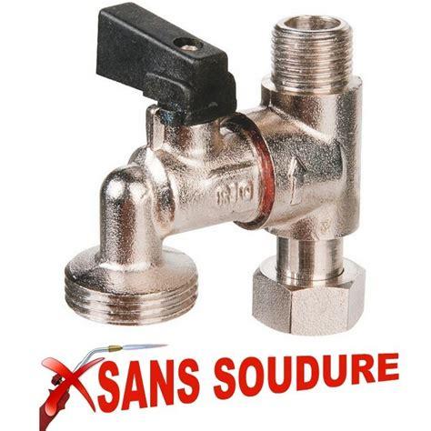 piquage robinet machine 224 laver sans soudure plomberie