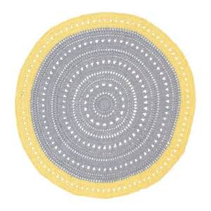 grey and yellow round floor rug the boudica files