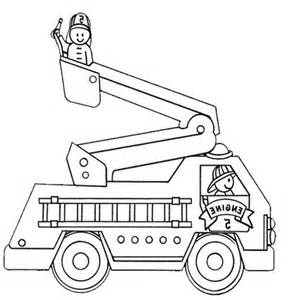Printable Fire Truck Coloring Pages Coloring Me Firetruck Coloring Pages