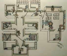 Fnaf2 map layout during gameplay by sega htf on deviantart