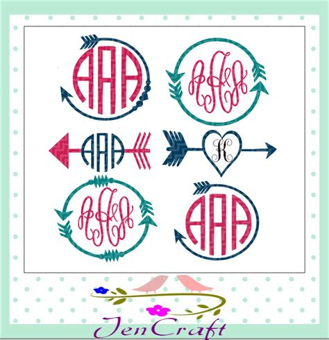 monogram ideas arrow monogram frames svg patterned pocket monogram