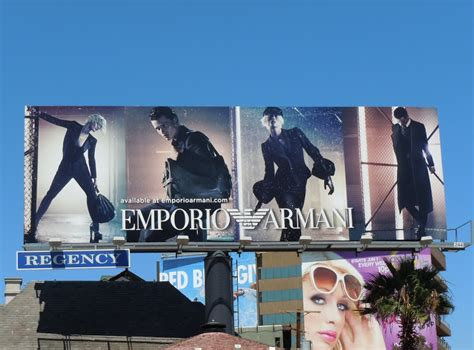 Rally Autos Holloway Road by Emporio Armani Fall Winter 2011 Fashion Billboard