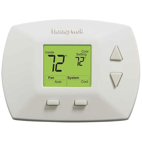 Honeywell Deluxe Digital Non Programmable Thermostat RTH5100B   The Home Depot