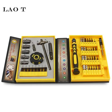 47 In 1 Precission Srewdriver Repair Tool Kit Jakemy Jm 8146 lao t 47 in 1 precision sleeve screwdrivers telecommunication tools cr v electronic repair tools