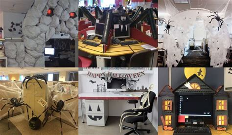 decorar oficina para halloween 16 originales ideas para decorar la oficina en halloween