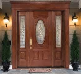Decorative Glass Front Entry Doors Single Fiberglass Door With Doorlite 2 Sidelites Decorative Glass Inserts