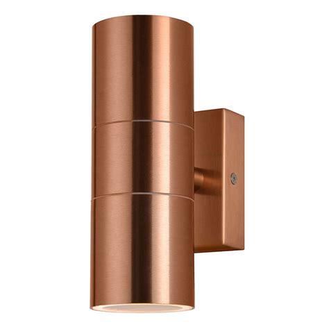 copper outdoor wall lights kenn up down light outdoor wall light copper from