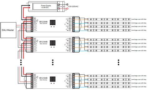 wiring diagram dali lighting lighting xcyyxh