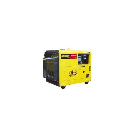 Genset 1 5kva krisbow kw2600008 kw26 08 diesel generator 5kva 4000w 1ph