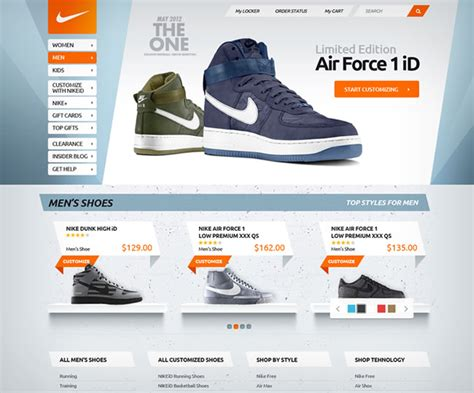 wordpress webshop layout 30 excellent website layouts from dribbble flashuser