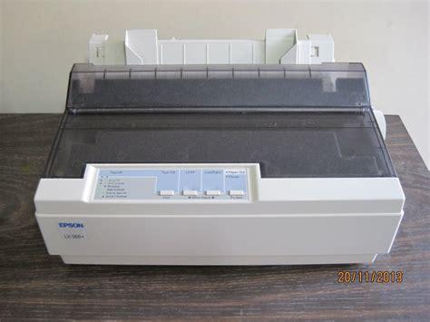 Knop Epson Lx300ii epson lx 300 ii matricial como nuevo s 180 00 en mercado libre