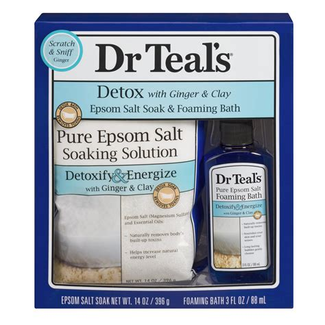 Detox Shoo Stores by Dr Teals 2pc Gift Set Detox Shop Your Way