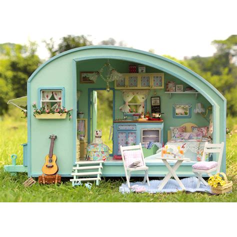 miniture doll houses diy dollhouse miniature traveller time dollhouse kit handcraft