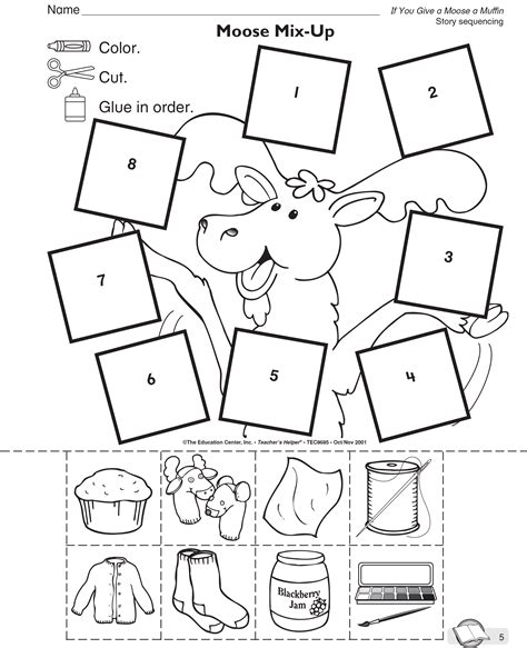 if you give a moose a muffin coloring pages coloring home