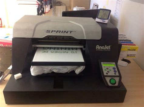 Printer Dtg Anajet Usa anajet sprint t shirt printer for sale