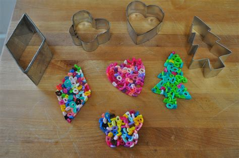 bead melting melted bead ornaments diy