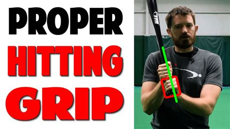 proper way to swing a baseball bat proper baseball hitting grip pro speed baseball youtube