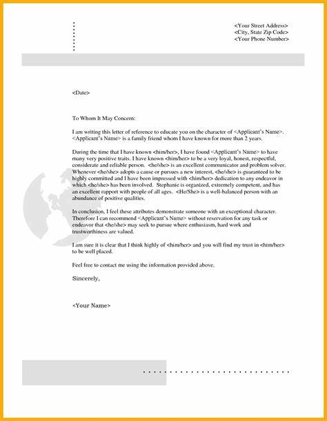 Cover letter template to whom it may concern great resume sample 5 character reference letter for a friend sample data thecheapjerseys Gallery