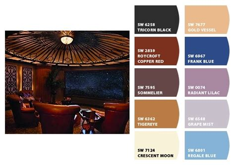 theater room paint colors from chip it by sherwin williams warm glass inspirations