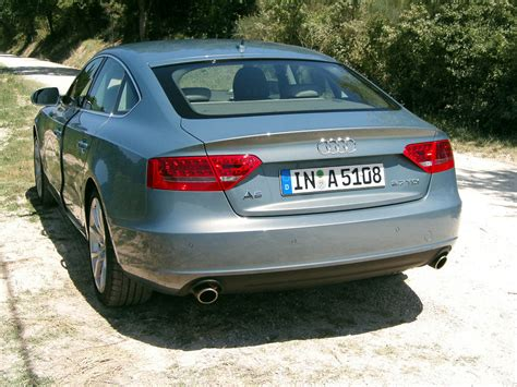 Audi A5 Sportback Kofferraum by Audi A5 Sportback Coup 233 Mit Vier T 252 Ren Und Heckklappe