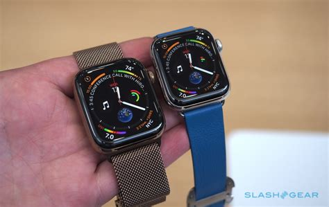 Apple Series 4 Hacks by Apple Series 4 On Roundup Bigger Display Makes For Better Complications