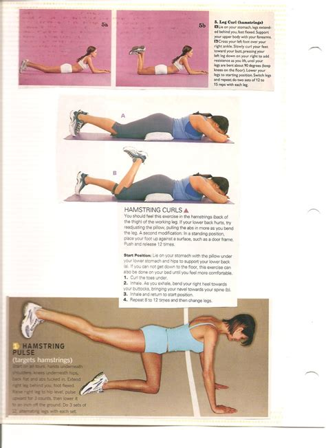hamstring exercises thighs