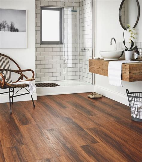 Vinyl Wood Flooring Bathroom Design Bathroom Flooring Ideas And Advice Karndean Designflooring Karndean Luxury Vinyl Pinterest