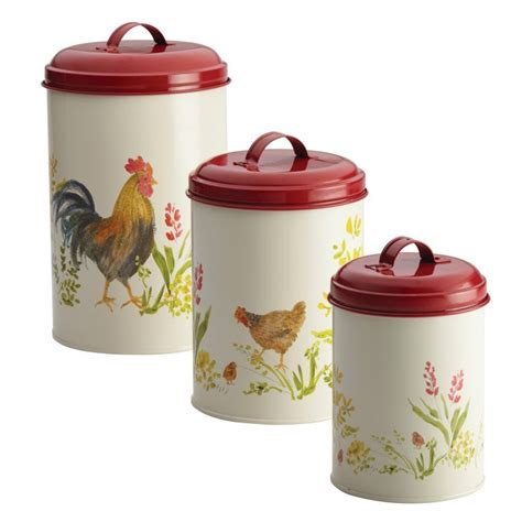 rooster canisters kitchen products 8 chicken themed kitchen products for a poultry paradise