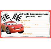 T&233l&233charger Invitations Anniversaire Cars