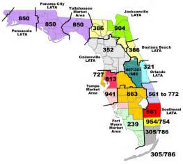 florida area codes map calling cape canaveral the florida memory