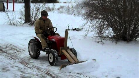 12 year old andrew s homemade snow plow for 1960 wheel