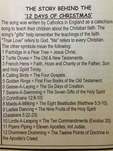 meaning of twelve days of christmas learntoride co