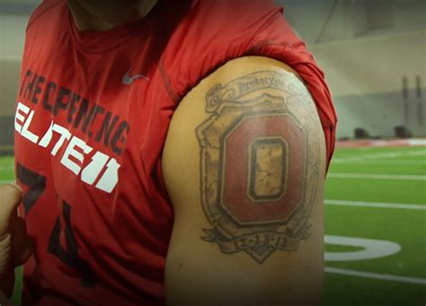 ohio state tattoos the ohio state buckeyes ncaa football news