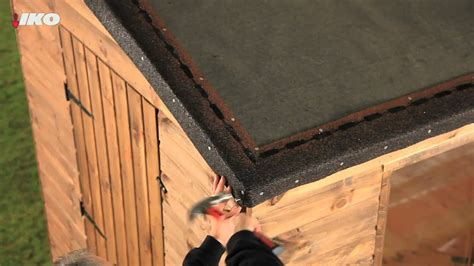 fix roofing shingles   shed youtube