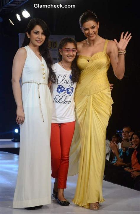 sushmita sen renee sen sushmita sen with daughter renee sen and designer