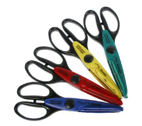 decorative edge scissors set set of 4 decorative corner edge scissors qvc uk