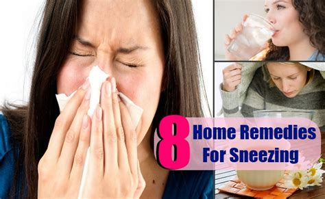 home remedies for sneezing