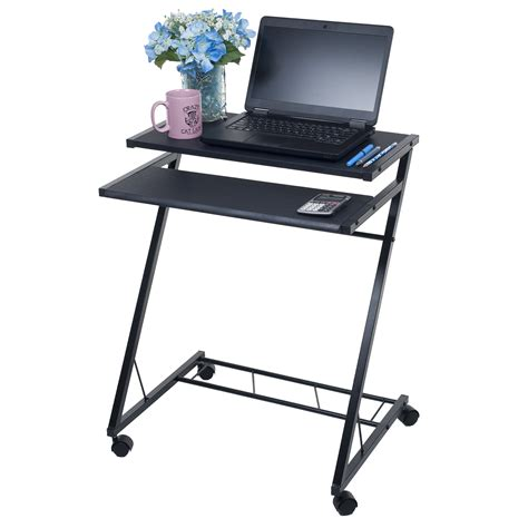 mobile laptop desk mobile laptop desk cart portable computer table notebook
