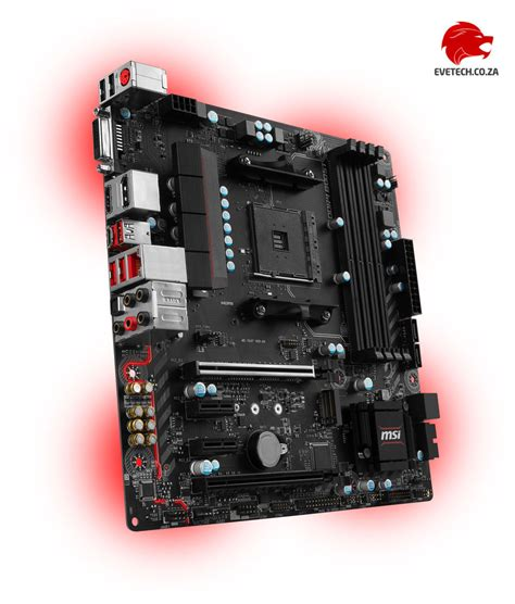 Msi B350m Mortar by Msi B350m Mortar Am4 Ryzen Motherboard Free Shipping