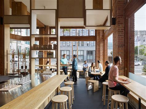 coffee shop wooden interior design interiors contemporist