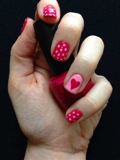 easy valentines nails 25 s day nail ideas working as a wonderful