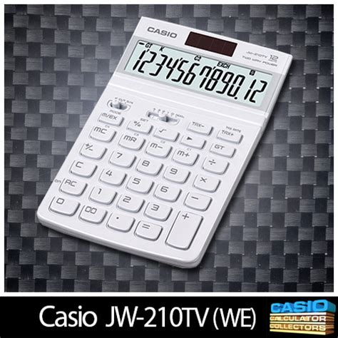 Casio Jw 210tv Kalkulator Merah by Www Casio Calculator Casio 001