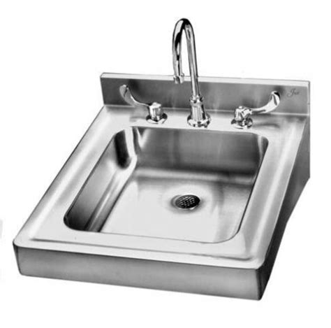 wall hung stainless steel sinks stainless steel wall hung sink with overflow