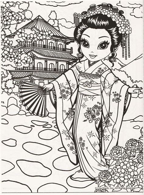 lisa frank inc coloring pages 489 best images about asian art on pinterest yamamoto