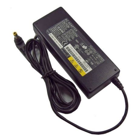 Adaptor Fujitsu 19v 4 22a لیست قیمت fujitsu 19v 4 22a laptop adaptor ترب
