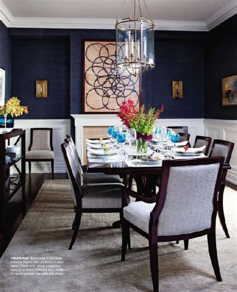 navy blue dining room blue dining room ideas megan morris