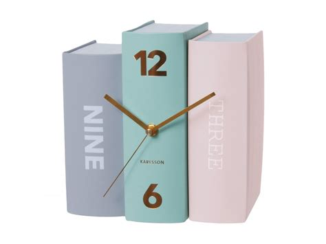 clocks a novel books modern book pastel color clock everything s pastel