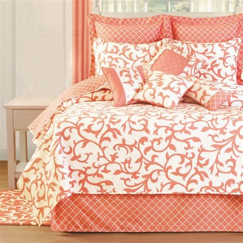 Coral Bedding by Coral Bedding It Abode