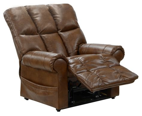 leather lift recliners catnapper stallworth bonded leather power lift full lay