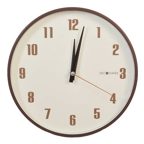 wall clock retro multiplex silent wall clock decomates
